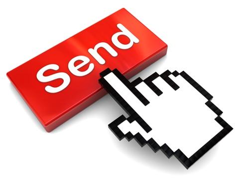 Відпривити лист в інтернет