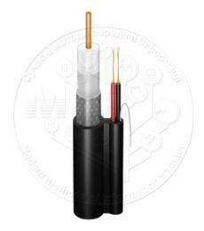 Абонентський коаксіальний кабель FinMark F690BV -2x0.75 POWER