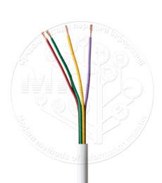 Сигнальний кабель DCG Alarm Cable 4core CCA unsh