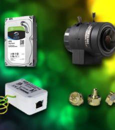Додаткове обладнання для відеонагляду
