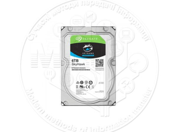 Жорсткий диск Seagate серії SkyHawk на 6 TБ