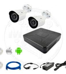Комплект відеоспостереження GT DVR4 OUT-2