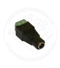 Zinc DC female connector