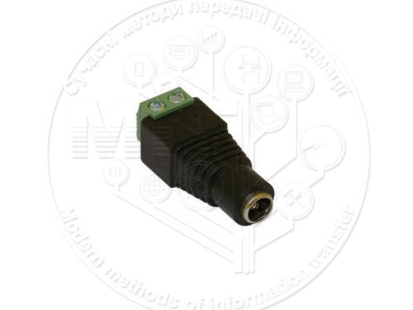 Zinc DC female connector