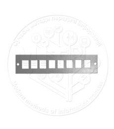 Лицьова панель SC-08