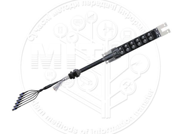 Збірка кабельна гібридна HCA MLUH 6LCDX 12х4 xxx yyym