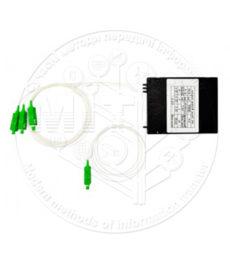 Зварні оптичні подільники FBT 1×3 APC ABS-box