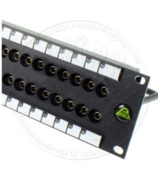 Патч-панель для аналогових і цифрових SD SDI сигналів