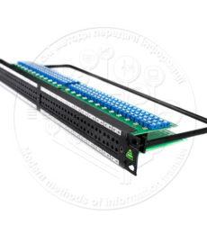 Патч-панель для комутації відеосигналів 3G-SDI
