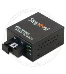 Медіаконвертери Step4Net MCm-Q-0,1-1SM-1310nm-20