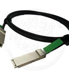 40-гігабітний мідний кабель FoxGate QSFP+/QSFP+ DAC-Xcu